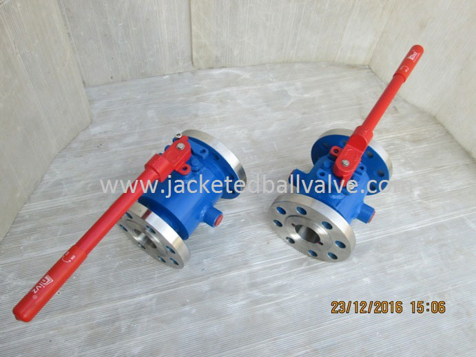 Hastelloy Material Jacketed Ball Valve Manufacturer