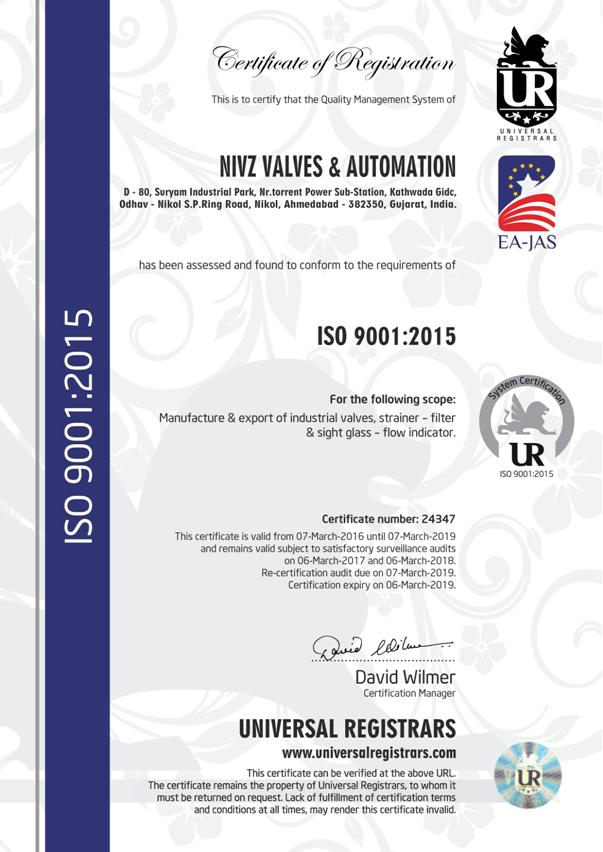 ISO 9001 : 2015 Certified Jacketed Valve Manufacturers, Stockist, Supplier, Importers, Stockist, Maintenance Free, Class One Quality Jacketed Valve Exporter
