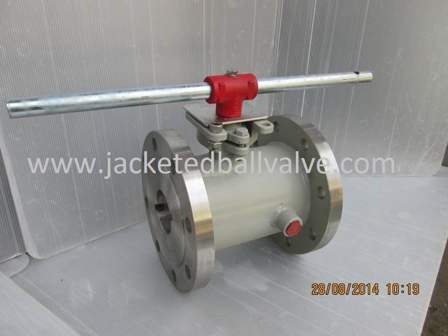 Full Jacketed Ball Valves