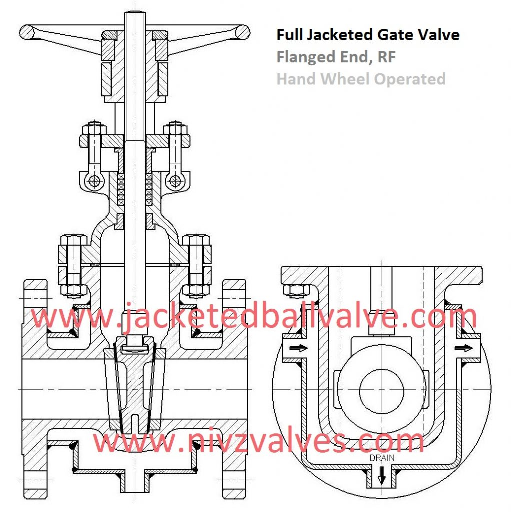 Jacketed Gate Valve Manufacturer, Hot Thermal Oil, Steam Jacketed Valve Exporter, Rising Stem Gate Valve with Jacketed, Jacketed Valve Importer, Suppliers