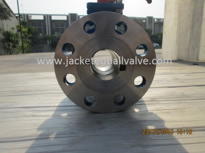Jacketed Valve With Metal Seated