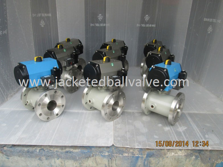 Remote Operated Jacketed Ball Valves