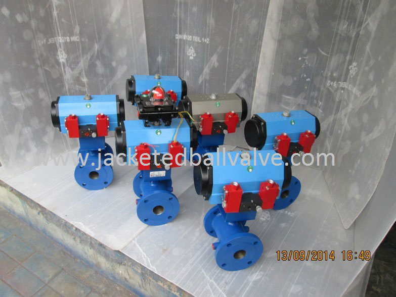 Remote Operated Jacketed Valves