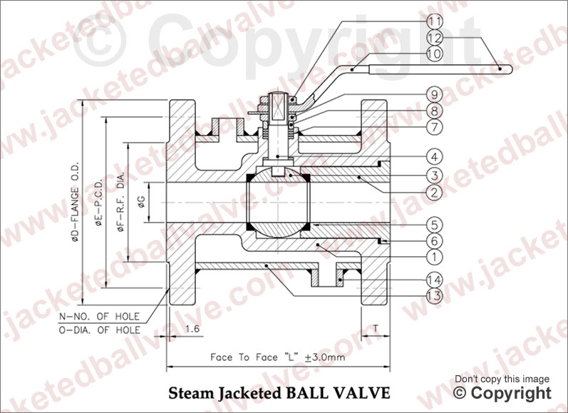 Steam Jacketed Ball Valve Manufacturer Exporter Supplier Stockist