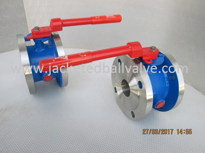 Steam Jacketed Ball Valves