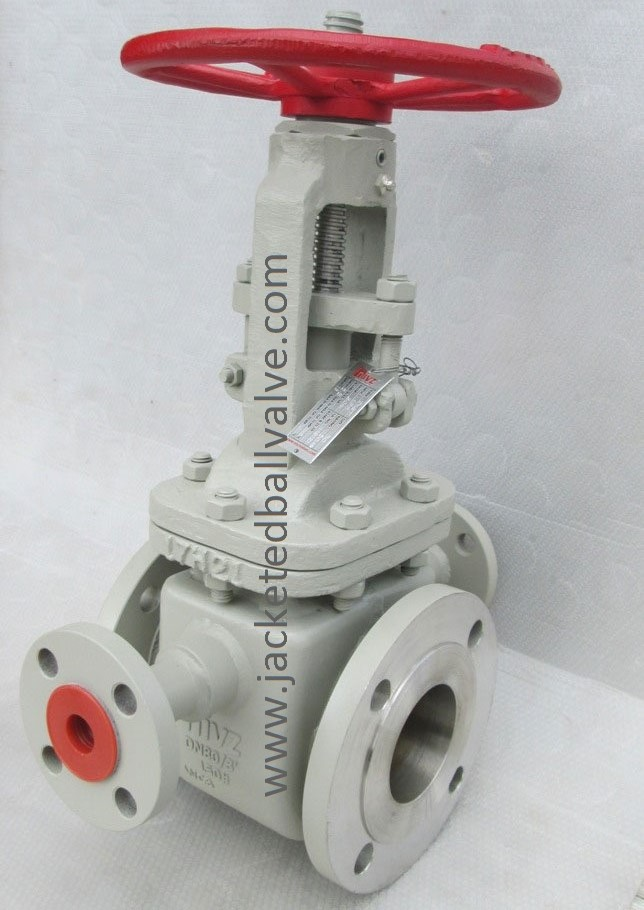 Polymer Resin Sulphur Service Jacketed Gate Valve Stokist Supplier