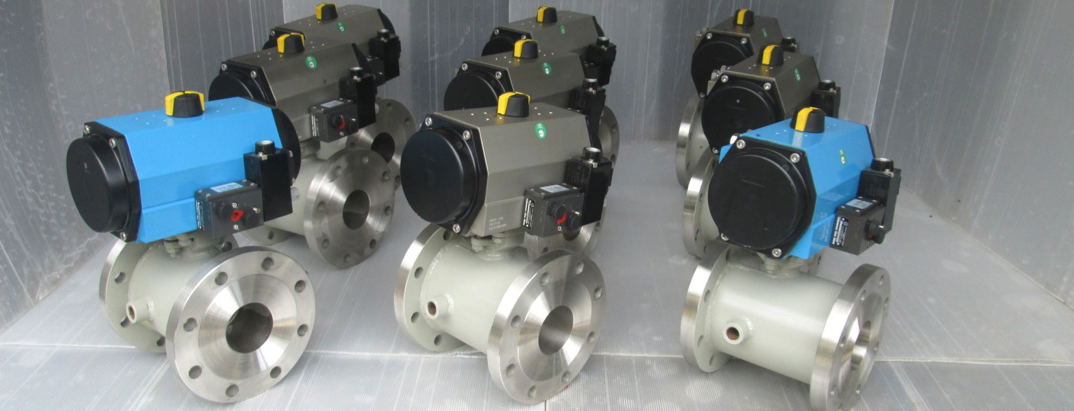 Pneumatic Operated Jacketed Valve Manufacturers